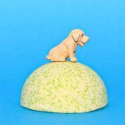 Детская шипучая соль для ванн для ванн с игрушкой и ароматом яблока. Арт. 10012