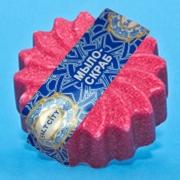Скраб-мыло на солевой основе с экстрактом череды в форме цветка. Арт. 10130