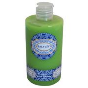 Крем-пена для ванн зелёный чай-папайя